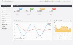 optimus dashboard admin template bootstrap admin templates