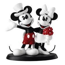 mickey and minnie wedding mickey and minnie wedding figurine enchanted disney
