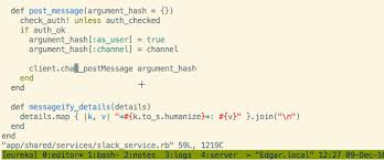 ruby hash map tags to browse ruby and gem source with vim jakub