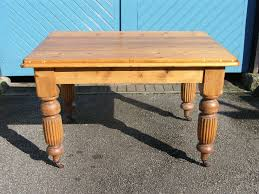 solid victorian pine kitchen table circa 1880 u2013 treasures antiques