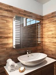 led bathroom mirror cabinets single door with built in demister