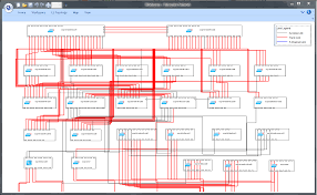 Data Center Floor Plan by Map Gallery Netbrain