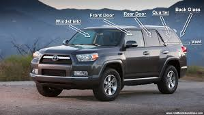 toyota 4runner windshield auto glass question what are the different types of auto glass