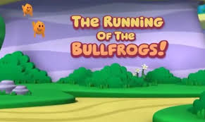the running of the bullfrogs bubble guppies wiki fandom