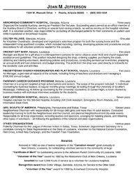 Sample Accounting Resumes by Volunteer Resume Samples Berathen Com