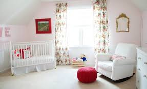 Pink Nursery Curtains Floral Curtains Tags Project Nursery