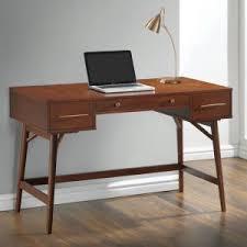 Office Desk Walnut Walnut Veneer Office Desk Caravana Furniture
