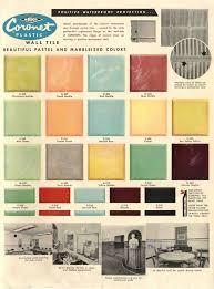 1950s Kitchen Colors Photo Melissacon Matte Grey Yellow Tiles Recent Kitchen Projects
