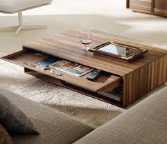 Rectangular Coffee Table Simple Rectangular Wooden Coffee Table With Natural Finish U2013 Twipik