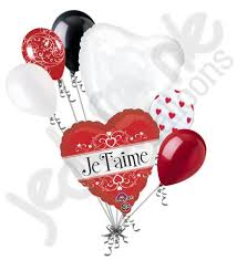 heart balloon bouquet je t aime i you heart balloon bouquet jeckaroonie balloons