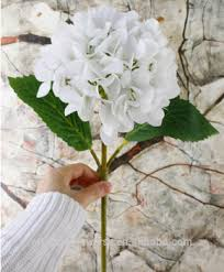 Cheap Flowers For Wedding Wholesale Artificial Latex Hydrangea Flower For Wedding Buy