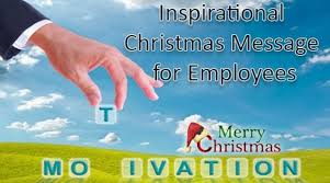 inspirational christmas message for employees best message