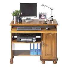 bureau rustique meuble informatique 1p chene rustique maison et styles