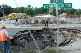 Map Of Sinkholes In Florida by Expect To Hear More About These 80 Foot Deep Sinkholes As