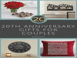 wedding gifts elizabeth 31 20th wedding anniversary gift ideas for him