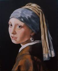 girl with pearl earring painting recreating vermeer girl pearl earring milkmaid boreas