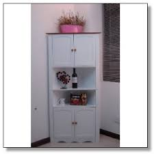 Kitchen Pantry Cabinets Freestanding Pantry Cabinet Tall White Pantry Cabinet With Furniture On