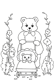 bear coloring pages coloringpages1001