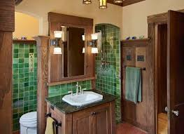 bathroom storage craftsman mission style bathroom vanities