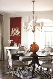 Zebra Dining Room Chairs Exterior Elegant Dining Room Design With Chandelier By Hinkley