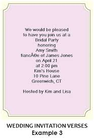 what do you put on a bridal shower registry bridal shower invitation wording exles