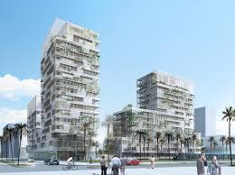 Bureau D Ude Batiment Casablanca Maroc La Proposition De Herreros Architectes Pour Casablanca Anfa