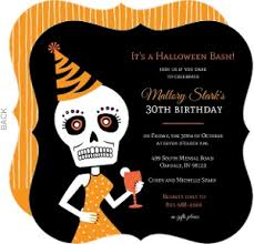 halloween birthday invitation u2013 festival collections
