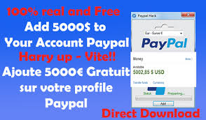 tutorial hack visa paypal money hack add 5000 in your account now ajoute 5000