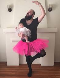 in costumes takes hilarious pics with his baby girl in costumes and they re
