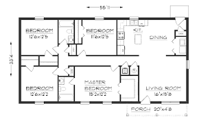 bedroom house simple plan two plans picturesque small floor 2 5 42