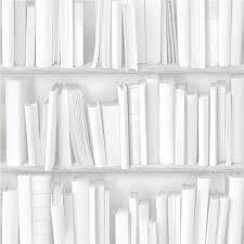 Trompe L Oeil Wallpaper by Muriva Virtual Reality Books Bookcase Bookshelves Wallpaper J43090