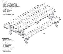 Free Diy Picnic Table Plans by The 25 Best Diy Picnic Table Ideas On Pinterest Outdoor Tables