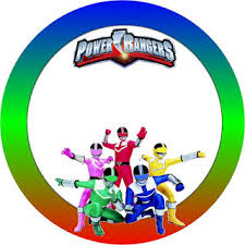 power rangers free printable candy buffet labels