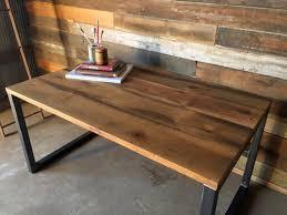 Modern Wood Desk Reclaimed Wood Desk Industrial Reclaimed Wood Desk Modern Modern
