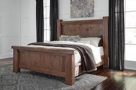 king poster bedroom set tamilo king poster bed in grayish brown b714p king