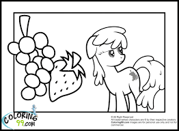 my little pony coloring pages minister coloring