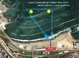 Patco Map 2014 Lima Patco Triathlon Pan American Cup And Iberoamerican