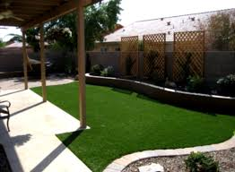 Landscape Design Ideas For Small Backyard Landscape A Simple Minimalist Sloping Backyard Easy Cozy And