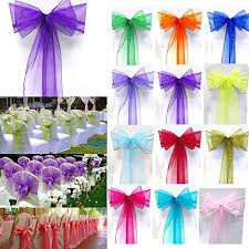 Purple Chair Sashes Mds Wedding Chair Lace Bow Sash Wedding Chair Sash Sashes Venue