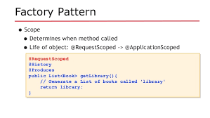 factory pattern in java with exle se2016 java ee revisits design patterns 2016