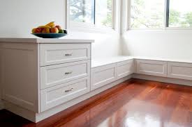 Kitchen Bench Seating With Storage Plans by Bench Seat With Storage Drawers Bench Decoration