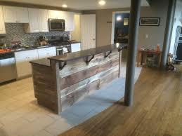 barnwood kitchen island kitchen glamorous rustic kitchen island bar 13177648