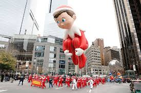 you can actually the thanksgiving day parade from your