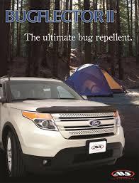 Ford Explorer Hood Latch - amazon com auto ventshade 25544 bugflector ii hood shield automotive