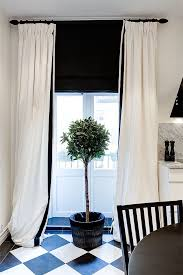 Black And White Window Curtains Blind Out Curtains Best 25 Black Blinds Ideas On Pinterest Black