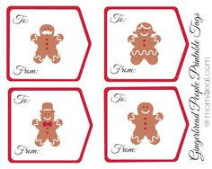 printable gingerbread man gift tags christmas gift tags to color free printable gift tags for kids to