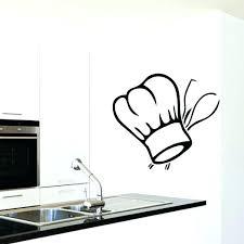 autocollant cuisine sticker de cuisine stickers cuisine design stickers toque de