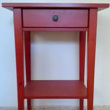 Ikea Hemnes Nightstand Blue Ikea Red Bedside Table Table Designs