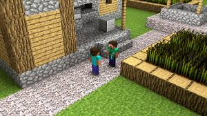 wallpaper video games garden grass wall minecraft steve