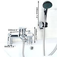 Rv Kitchen Faucet Bathtub Faucet With Handheld Shower U2013 Wormblaster Net